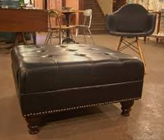 11 Best Ottomans Different Styles Images Leather Ottoman Coffee