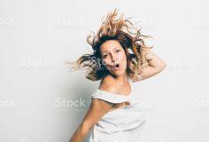 Fille s'amuser Stock Photo Libre de Droits 71130133 - iStock