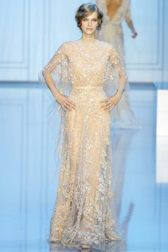 Elie Saab Fall 2011 Couture Fashion Show - Mirte Maas