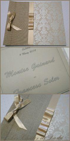 Libro de firmas para Boda  Cartonnage  Pinterest