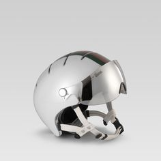 Italian bike maker Bianchi and luxury goods brand Gucci get together to make a bike helmet. Presented are both a white and a black helmet, featuring the signature green/red/green branding by Gucci on. Chopper Motorcycle, Motorcycle Helmets, Futuristic Motorcycle, Cycling Helmet, Bicycle Helmet, Helmet Head, Bike Components, Gucci, Cycle Chic