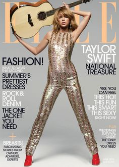 Taylor Swift is ELLE's June cover girl and Tavi Gevinson interviewed her. See more looks from the shoots and get a preview of the piece.