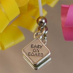Pregnancy Belly Button Rings-Baby on Board From $24.99 | Pregnancy Belly Button Rings | MommyLicious Maternity