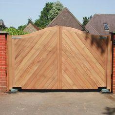 Ahşap Bahçe Kapısı Model 537