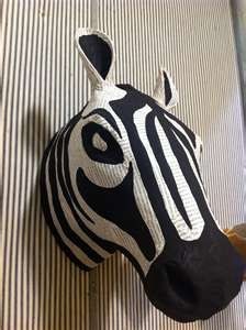 Image detail for -DIY Inspiration} Paper Mâché Animal Bust at Anthropologie - Typical ...