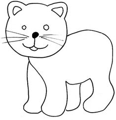 This page has a lot of free cat coloring pages for kids. Teachers can use these coloring pages for child education. Preschool Coloring Pages, Cat Coloring Page, Coloring Pages To Print, Coloring Pages For Kids, Colouring, Power Rangers Dino, Scooby Snacks, Kitty Party, Cute Cats