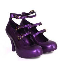 My wonderful Vivienne Westwood + Melissa purple shoes