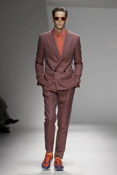 Salvatore Ferragamo @ Milan Menswear S/S 2013 - SHOWstudio - The Home of Fashion Film - look @ the perfect cut of this suit