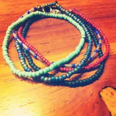 Sea breeze bracelets #handmade