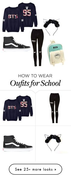 """<3 #5"" by ohmydayz on Polyvore featuring Topshop and Vans"