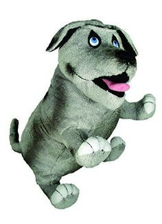 MerryMakers Walter the Farting Dog Plush Toy 8-Inch