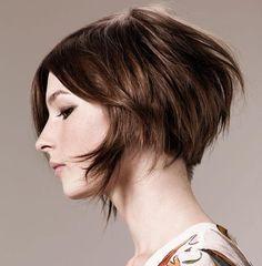 Hair cut short