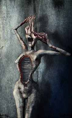 Schizophrenia by Grzegorz Kmin