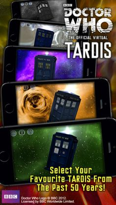 Doctor Who: TARDIS (Official) on the App Store on iTunes