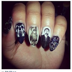 Deftones  Nail Decals by chachacovers on Etsy, $6.00