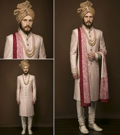 Choosing the right Groomswear is an important decision for the stylish Groom. We are offering designer & stylish Groomwear in Noida, Delhi NCR & California. Wedding Outfits For Groom, Wedding Dress Men, Indian Wedding Outfits, Wedding Men, Farm Wedding, Chic Wedding, Wedding Couples, Wedding Reception, Wedding Ideas