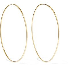 Magda Butrym Gold-plated silver hoop earrings ($365) ❤ liked on Polyvore featuring jewelry, earrings, square hoop earrings, silver gold plated jewellery, square earrings, hoop earrings and earring jewelry