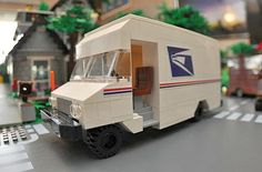 LEGO City Mail Truck by Accurate Brick Innovations