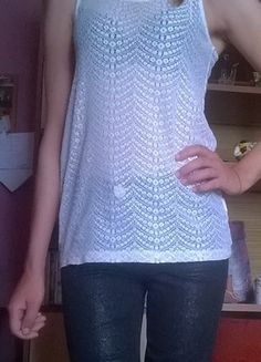 Kup mój przedmiot na #vintedpl http://www.vinted.pl/damska-odziez/koszulki-z-krotkim-rekawem-t-shirty/10059405-biala-koronkowa-bluzka