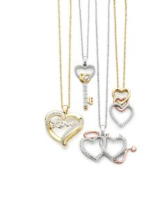 Put your heart into this Valentine's Day with the gift of a pendant necklace.