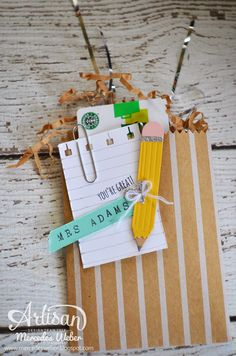 i love the versatility of Stampin Up's products! ~Mercedes Weber (made with the Handpicked framelits)