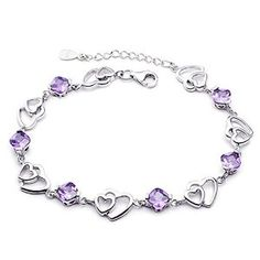 Item descriptions: The bracelet is suitable for all occasions and this bracelet is more stunning and beautiful then the actual picture, will definitely recommend for a gift or even for yourself.High quality, resistance to rust, corrosion, tarnishing and requires minimal maintenance in order to keep jewelry looking like new.