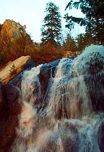 Bell's Canyon Waterfall