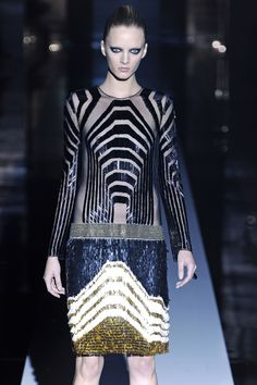 Gucci's Art Deco-themed spring/summer 12' collection
