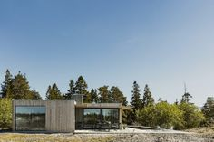 New post on martintgp House By The Sea, House In The Woods, Building Design, Building A House, Tiny House, Off Grid House, Summer Cabins, Facade Architecture, Winter House