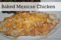 Baked Mexican Chicken