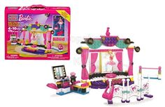 Have lots of construction fun with the Mega Bloks Barbie Build 'n' Play Ballet Studio! Barbie has a big recital only a few days away and she'll need your help to practice in her Mega Bloks Barbie Build 'n Play Ballet Studio. - To order: http://www.shopaholic.com.ph/new.html#!/Mega-Bloks-Barbie-Ballet-Studio/p/46341833/category=6966429