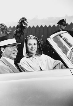Frank Sinatra and Grace Kelly in High Society, 1956
