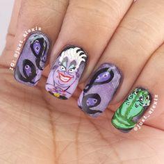 just_alexiz URSULA #nail #nails #nailart
