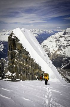 backcountry skiing in Canada