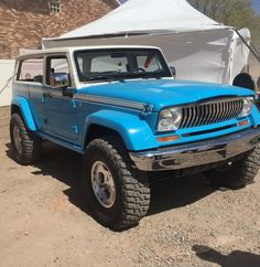 Jeep Chief concept at Moab