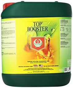 House and Garden HGTBS05L Top Booster Fertilizer, 5 L *** Trust me, this is great! Click the image. : Gardening Tools