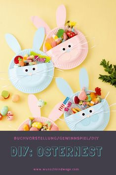 useful upcycled crafts Rezension: Schnelles DIY zu - upcycledcrafts Bunny Crafts, Easter Crafts For Kids, Basket Crafts, Thanksgiving Crafts, Easter Decor, Easter Table, Diy Niños Manualidades, Homemade Easter Baskets, Diy Home Crafts