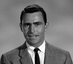 """""""Every writer is a frustrated actor who recites his lines in the hidden auditorium of his skull.""""   — Rod Serling"""
