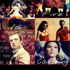 The Hunger Games<>Catching Fire<>Mockingjay