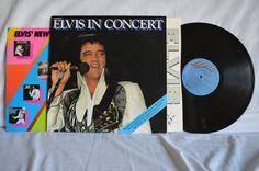 Elvis Presley Elvis In Concert Record LP RCA by FloridaFinders, $15.00