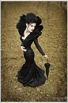 Gothic Glam couture