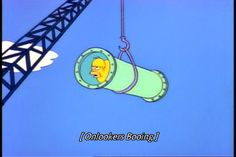 Homer gets stuck going down a waterslide. Simpsons Quotes, The Simpsons, Teen Romance, Image Fun, Meme Template, Best Shows Ever, Funny Posts, Best Funny Pictures, Cartoons