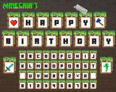 Lovely Free Printable Minecraft Birthday Bookmarks_1 | Parties | Pinterest | Free  Printable, Bookmarks And Birthdays