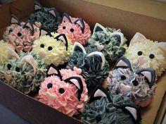 The Cupcake Company (cat cupcake ideas)