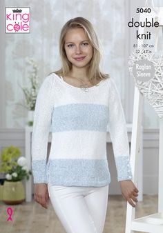 Sweaters Knitted in Calypso DK - King Cole