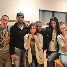 World's best cast ♥ I love how they're all such good friends both on and off the show :)