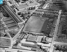 Queen's Park Rangers FC Football Ground at Loftus Road, Shepherd's Bush, 1928