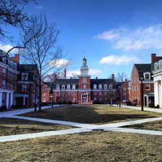 Ohio University, Athens, Ohio.  This is West Green I lived on for my first two years.