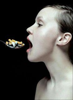 Anti Smoking System: No Creative Advertising, Advertising Design, Anti Tabaco, Smoking Campaigns, I Quit Smoking, Smoking Kills, Smoking Effects, Design Graphique, Photoshop