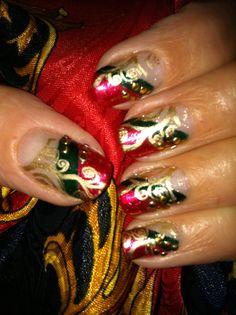 Artist plate 02 Enchanted Christmas Manicure